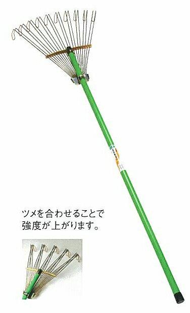 改良変身熊手(大) 420×柄1200mm 12040