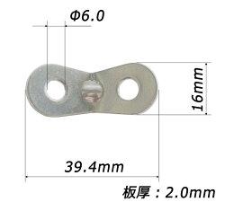 【レビューを書いて送料無料!】アルミ自在金具10個入ALM-10Pロープ径φ3.0-5.5mmまで対応ネコポスのため代引・日時指定不可