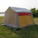【レビューを書いて!】TML(Trailer Mailing List) ロッジ型STスクリーンテント幅340cm奥行340cm高さ230cm ST-1226鉄骨フレーム(スチールフレーム)のテントで