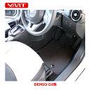 【送料無料】YMT 新型デミオラバー製運転席用フロアマットDJ系