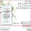 総合卸ヨシムラで買える「ルベル ナチュラル ヘア トリートメント ウィズ RP|ライスプロテイン  10g【 パウチ|1回使い捨て|サンプル|旅行にも 】」の画像です。価格は19円になります。
