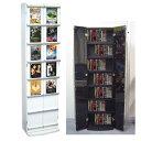 セール SALE 激安 アウトレット ディスプレイラック 本棚 書棚 文庫本ラック 漫画本 収納送料無料 DVDタワーラック H1600 TC-04