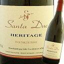 永遠に成長を続ける感動のワイン!!このワインだけは永遠に造り続けて欲しい大傑作!! サンタ・デュック・エリタージュ NV(2007)