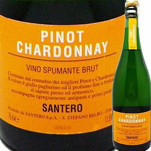 サンテロ・ピノ・シャルドネ・スプマンテ プレゼント シャンパン スパークリングワイン スパーク ゃんぱん バレンタイン