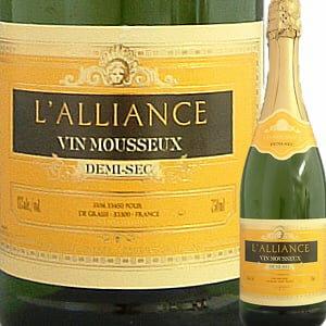 ラリアンス・ドゥミ・セック プレゼント スパークリングワイン スパーク