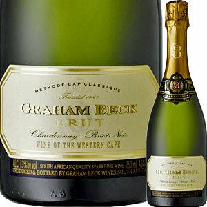 グラハム・ベック・ブリュット NV 誕生日プレゼント ギフト 還暦祝い 女性 人気 60代 スパークリングワイン スパークリング ワイン 結婚祝い お酒 結婚記念日 妻 内祝い 引っ越し祝い 南アフリカ 母 男性 お父さん 父親 祖父 お祝い お土産 景品 古希 クリスマス プレゼント