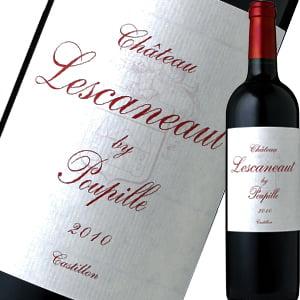 シャトー・レスカノ・バイ・プピーユ 赤ワイン フランス ボルドー カベルネ・ソーヴィニヨン メルロー