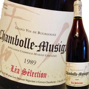 モン・レア・セレクション・シャンボール・ミュジニィ 赤ワイン