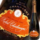 ロベール・シャルルマーニュ・ブリュット・ミレジム・ブラン・ド・ブラン・グランクリュ 2008|シャンパン スパークリング ワイン スパークリングワイン お酒 ギフト 結婚祝い 内祝い 出産内祝い 還暦祝い わいん プレゼント 誕生日 父 女性