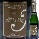ニコラ・マイヤール・ブリュット・プルミエクリュ・ミレジム 2007|お酒 誕生日プレゼント ギフト お返し シャンパン スパークリングワイン スパークリング ワイン 内祝い 結婚祝い 記念日 お土産