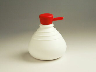 Product made in SoapBelly/ soap berry Soap Dispenser/ soap dispenser (791176-white / red) 液体石鹸詰替 bottle Netherlands