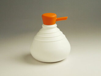 Product made in SoapBelly/ soap berry Soap Dispenser/ soap dispenser (791177-white / orange) 液体石鹸詰替 bottle Netherlands