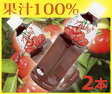 果汁100%!アセロラジュース500ml×2本ビタミンCとアントシアニンがたっぷり!シミ予防などの美容効果が期待!健康と美容に!