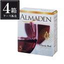 ショッピングアメリカ アルマデン クラシック レッド 5L 5000ml x 4本 赤ワイン ボックスワイン [ケース販売] あす楽対応 [アメリカ/赤ワイン/アサヒ]【母の日】