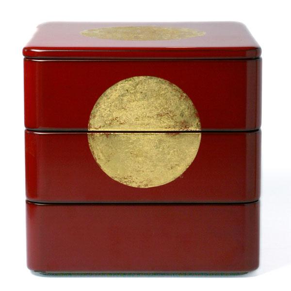 六五重〔丸文金箔付〕・三段一蓋・奥田志郎の商品画像