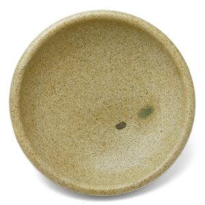 黄瀬戸点文5寸丸皿・長森慶