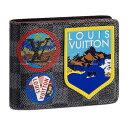【ご褒美に★】LOUIS VUITTON ルイ・ヴィトン 二つ折り財布 ポルトフォイユ・ミュルティプル パッチワーク N60097 新品未使用 (LOUIS VUITTON Wallet PORTEFEUILLE Patchwork[Never Used][Authentic])【あす楽対応】#yochika