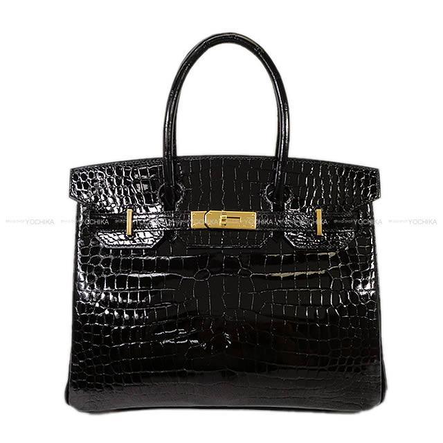 【自分へのご褒美★】HERMES エルメス バーキン30 黒(ブラック) クロコダイル ポロサス ゴールド金具 新品 (HERMES handbags Birkin 30 Black(Noir) crocodile Porosus GHW[Brand New][Authentic])【あす楽対応】#yochika