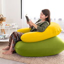Relax Combo(Yogibo Mini ライムグリーン & Yogibo Support イエロー) [分納の場合あり] / クッション ソファ ビーズクッション ビーズソファ 快適すぎて動けなくなる魔法のソファ