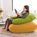 Relax Combo(Yogibo Mini キャメル & Yogibo Support ライムグリーン) [分納の場合あり] / クッション ソファ ビーズクッション ビーズソファ 快適すぎて動けなくなる魔法のソファ