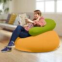 Relax Combo(Yogibo Pod キャメル & Yogibo Support ライムグリーン) [分納の場合あり] / クッション ソファ ビーズクッション ビーズソファ 快適すぎて動けなくなる魔法のソファ