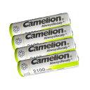 送料無料 ニッケル水素充電池 単3形 Camelion NH-AA2100ARBC4(単3/4本入×1 4本セット)