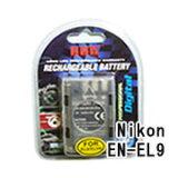 【メール便105円】ニコン(NIKON) EN-EL9 デジカメ用 互換バッテリー
