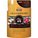 【送料無料・まとめ買い4個セット】熊野油脂 ディブ 3種のオイル コンディショナー (馬油・椿油・ココナッツオイル) 詰替用 400mL