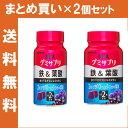 【2コまとめ買いで送料無料】UHA味覚糖 グミサプリ 鉄&葉酸 ボトル 30日分 60粒 アサイーミックス味