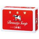 牛乳石鹸 赤箱 100G 1コ ミルク成分配合 カウブランドの石けん ( 固形せっけん )