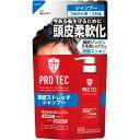 【送料無料】ライオン PRO TEC プロテク 頭皮ストレッチ シャンプー つめかえ用 230g 1個