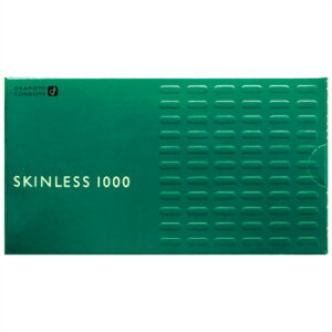 【×2個セット送料無料】【オカモト】スキンレス1000 1