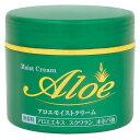 【×10個セット送料無料】アロエモイストクリーム160g無香料アロエエキス・スクワラン・ホホバ油配合