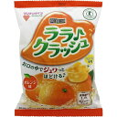 【送料無料・まとめ買い5個セット】マンナンライフ 蒟蒻畑 ララクラッシュ オレンジ味 24g×8個入 1袋