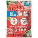 【×20個セット送料込】サラヤ 匠の塩飴 スイカ味 100g