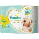 P&G パンパース はじめての肌へのいちばん 新生児より小さめ 24枚入り テープタイプ ( 赤ちゃん用オムツ )パッケージ変更の場合あり