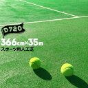 人工芝 D-720366cm幅×35m乱 芝長さ19mmフットサル テニスコート 多目的運動場用人芝