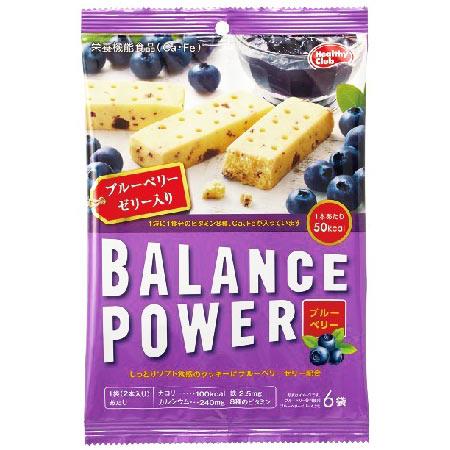 バランスパワー ブルーベリー 6袋(12本入) 【ハマダコンフェクト】 [栄養機能食品(Ca・Fe)]