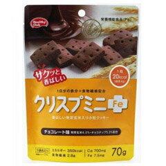 クリスプミニFe チョコレート味 70g [栄養機能食品] 【ハマダコンフェクト】