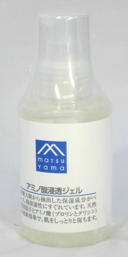 Matsuyama oil M mark amino acids penetrate gel 120 mL moisturizing lotion ★ total 1980 Yen over at ★