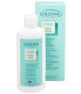 Logon-free body lotion (sensitive, for skin, hypoallergenic) 200 ml