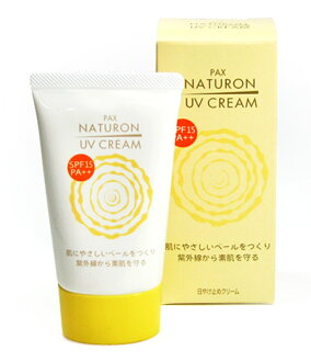 Sun oil Pax ナチュロン UV cream 45 g SPF15/PA++ ★ total 1980 yen or more at ★