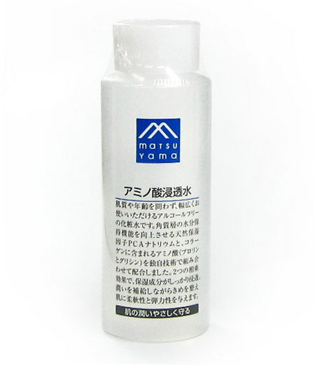 Matsuyama oil M mark amino acid seepage water 180 ml ( lotion ) ★ total 1980 yen or more at ★