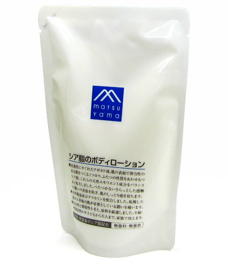 Matsuyama oil M mark Shea greasy body lotion refill more than 280 mL ★ total 1980 Yen at it ★