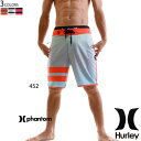 【値下げしました!SALE】HURLEY ハーレー 水着 メンズ サーフパンツ トランクス 18インチ グラデーション