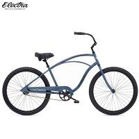 【楽天スーパーSALE限定 ポイントアップ】ビーチクルーザー ELECTRA エレクトラ CRUISER 1 26インチ ミッドナイトブルー 自転車の画像