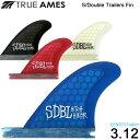 TRUE AMES トゥルーアムス フィン S/Double Hitch Hiker 3.12 SHAWN STUSSY センタートレーラー 4カラー【メール便送料無料】