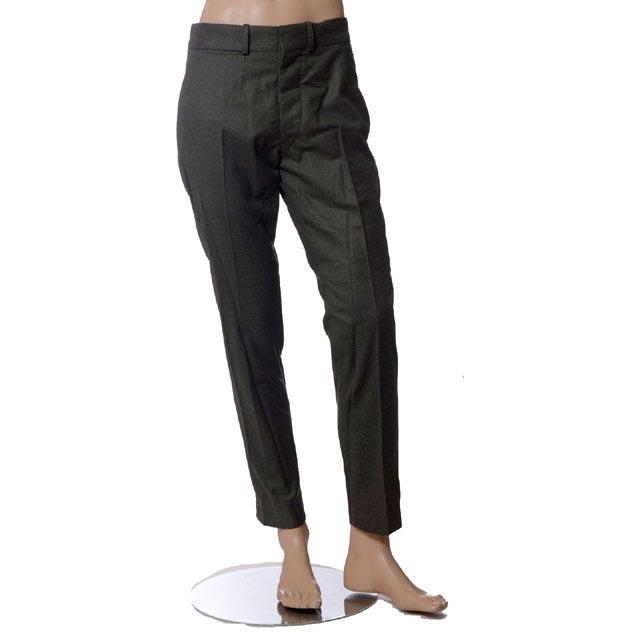 クリストフルメール (CHRISTOPHE LEMAIRE) スーツパンツ グレー p01mww03gr03 メンズ秋冬 送料無料 【正規取扱】