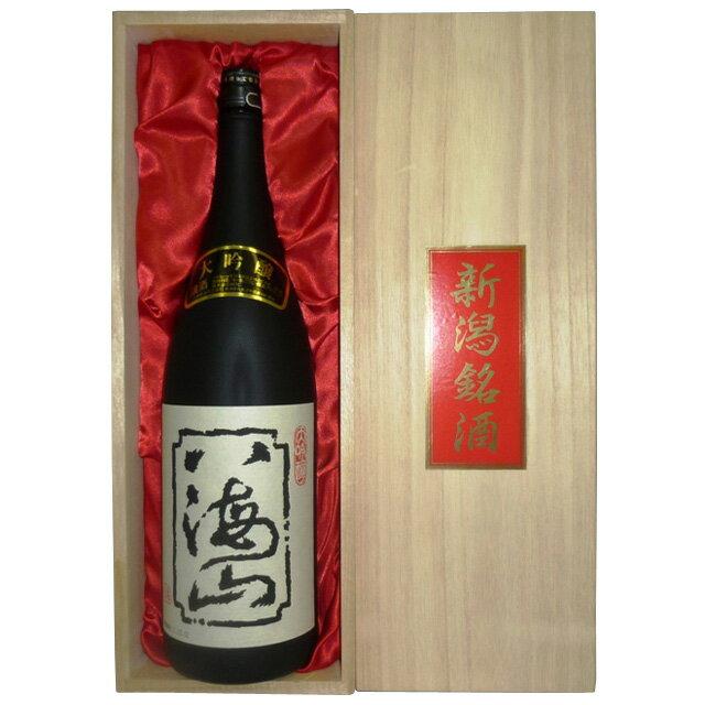 ご贈答・ギフト八海山大吟醸酒1800ml桐箱赤布貼り(日本酒還暦祝い八海山八海醸造新潟