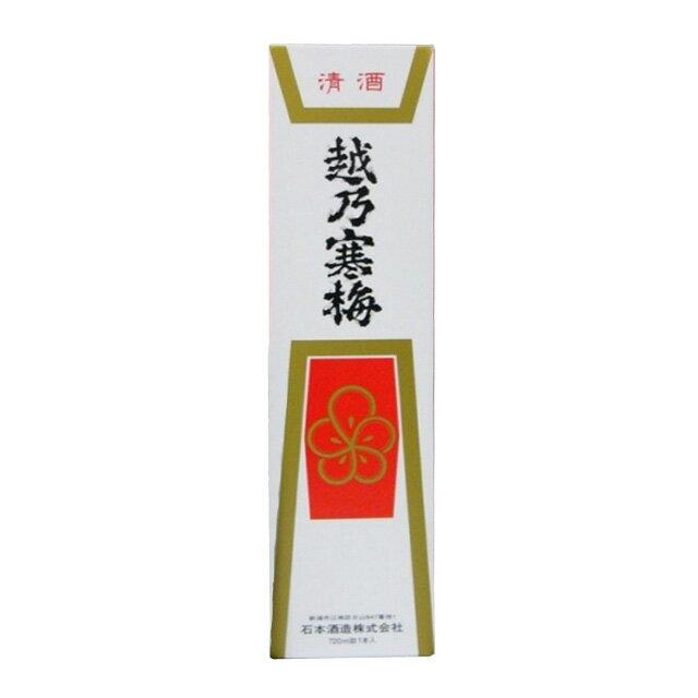 化粧箱 (越乃寒梅専用 720ml 1本入り用 )の商品画像